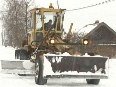 Деревни к очистке от снега не готовы