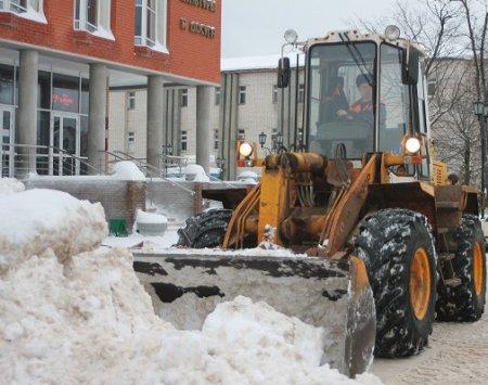В борьбе со снегом