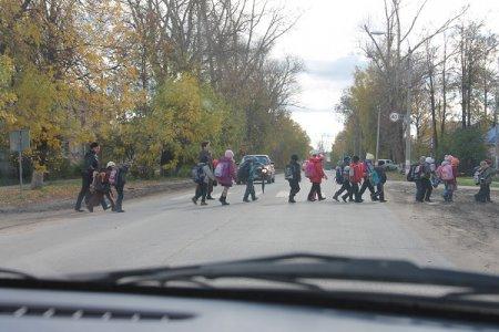 Будь внимательней, пешеход!