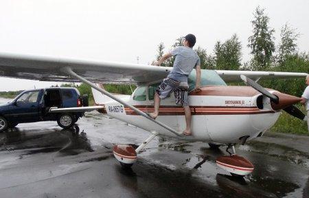 Спасли самолет!