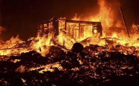На пожарах в районе погибло пятеро