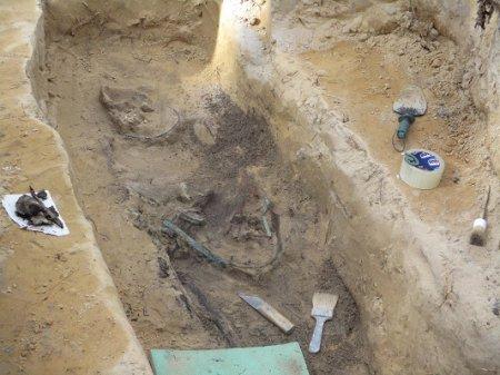 Тайны древних могильников