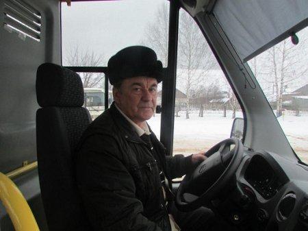В новый год на новом автобусе