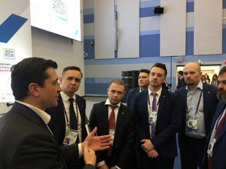 Глава Нижегородской области Глеб Никитин обсудил с финалистами всероссийского конкурса «Лидеры России» роль лидера в системе государственного управления.