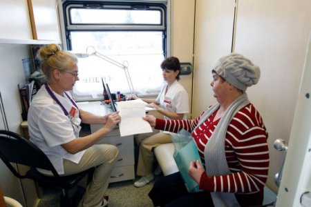 Доступная медицина. От областной больницы им. Н. А. Семашко в самые  отдаленные районы области отправились «поезда здоровья»