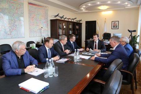 Глеб Никитин обсудил с главами федеральных ведомств ключевые проекты региона