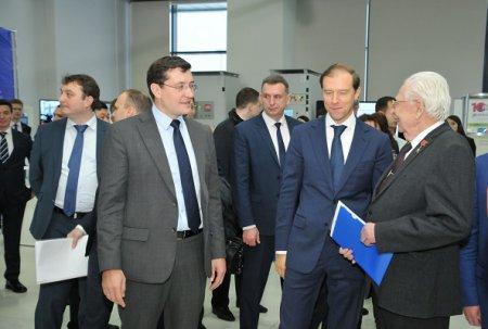 Глеб Никитин представил Нижегородскую область как будущий пилотный регион нацпроекта в ходе визита министра промышленности РФ