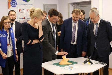 Глеб Никитин торжественно открыл детский технопарк «Кванториум ГАЗ»