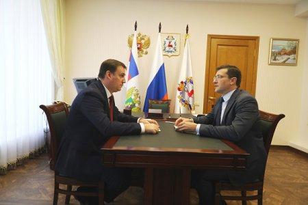 Рабочая встреча в нижегородском кремле