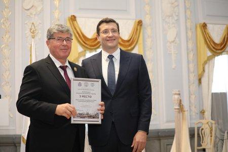 Глеб Никитин наградил победителей конкурса по качеству товаров и услуг