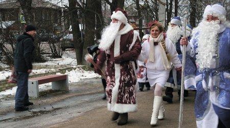 А Дед Мороз то настоящий!