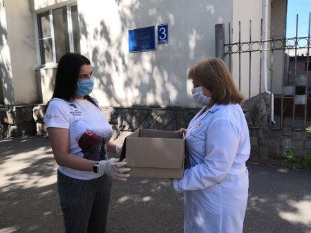 Более 10 тысяч ленточек-триколор вручат нижегородцам, которые борются с коронавирусом