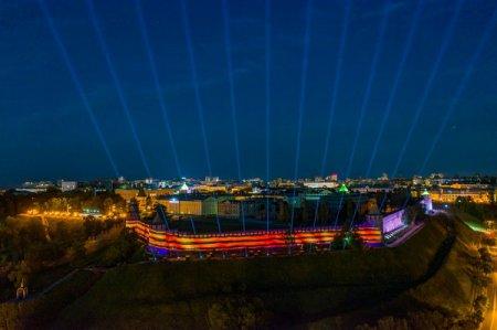 Нижний Новгород присоединился к акции «Лучи Победы»