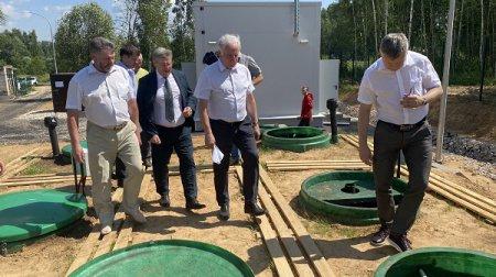 Строительство очистных сооружений  завершилось в селе Смольки Городецкого района