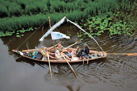 К заветной мечте под парусом отправилась экспедиция от истоков до устья Ветлуги