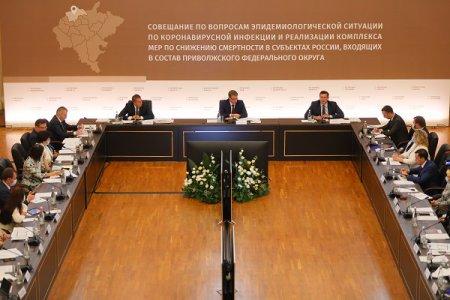 Глеб Никитин принял участие в окружном совещании под председательством министра здравоохранения РФ Михаила Мурашко