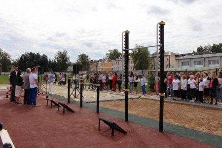 Проект «Спорт в каждый двор» стартовал в Нижегородской области
