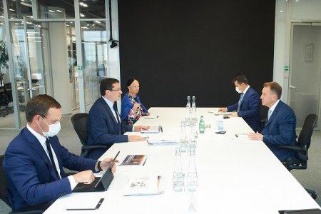 Глеб Никитин и Игорь Шувалов провели рабочую встречу в Москве