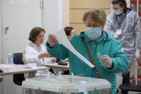 «По предварительным данным,  явка на досрочных выборах составила 9 процентов», - Маргарита Красилевская