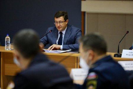 Глеб Никитин провел заседание антитеррористической комиссии в Нижегородской области
