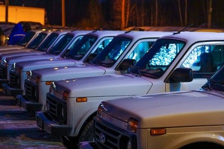 Медучреждения Нижегородской области получили 182 новых автомобиля