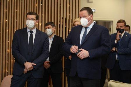 Антон Котяков и Глеб Никитин дали старт проекту «Команда 52»