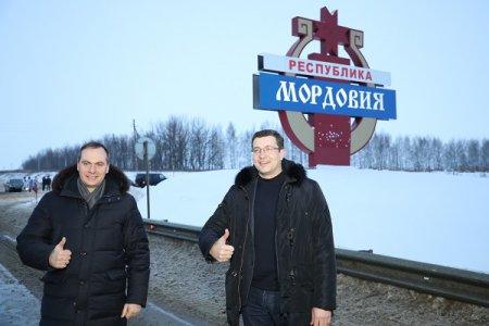 Глеб Никитин и Артем Здунов подписали соглашение о сотрудничестве между Нижегородской областью и Мордовией