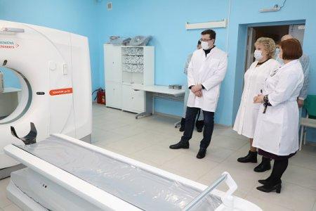Глеб Никитин: «17 новых компьютерных томографов получили больницы Нижегородской области в 2020 году»