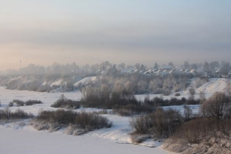 Контрасты нынешней зимы