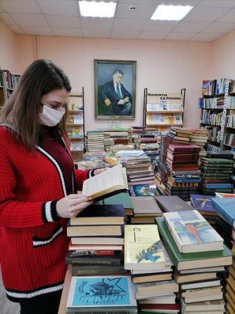 42 тысячи книг было собрано в рамках акции «Подари книгу»