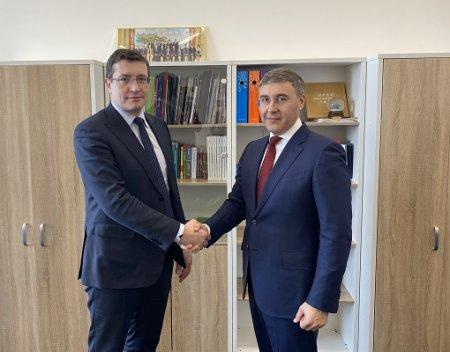 Валерий Фальков и Глеб Никитин провели рабочую встречу