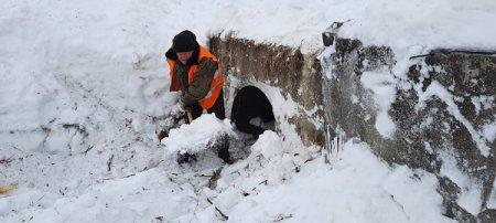 Готовность к предстоящему паводку проверили специалисты регионального минтранса