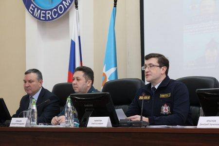 Глеб Никитин поручил главам муниципалитетов оперативно реагировать на все сообщения жителей о паводковой ситуации