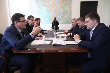 Глеб Никитин провел рабочую встречу с заместителем председателя Совета Федерации Николаем Журавлевым