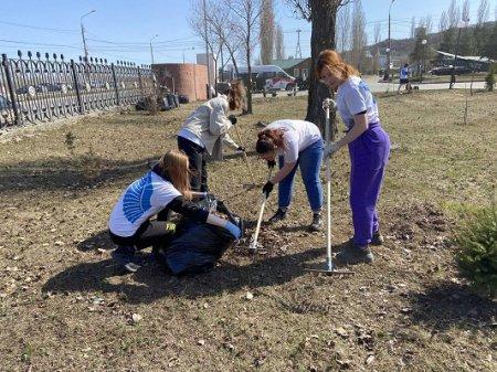 Нижегородские «Волонтеры Победы» присоединились к Международному субботнику