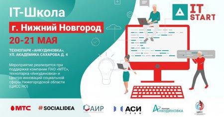 В Нижнем Новгороде пройдет IT-школа Приволжского федерального округа