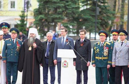 Глеб Никитин: «Парад Победы в Нижнем Новгороде стал самым масштабным в истории региона»