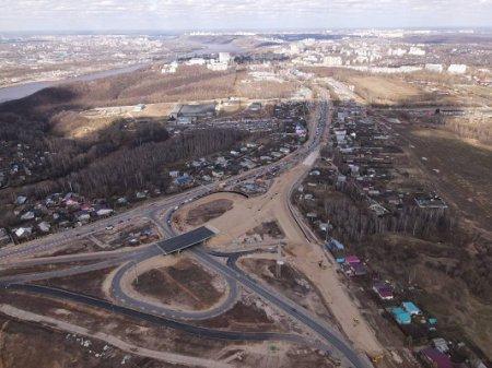 Автомобильное движение по путепроводу в Ольгине в Нижнем Новгороде будет открыто 25 июня