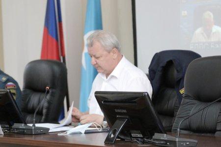 Дмитрий Краснов провел внеочередное заседание комиссии по предупреждению и ликвидации чрезвычайных ситуаций