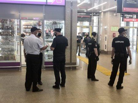 На железнодорожном вокзале в Нижнем Новгороде проверили соблюдение масочного режима