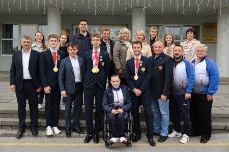 Нижегородские спортсмены вернулись домой после Паралимпийских игр в Токио